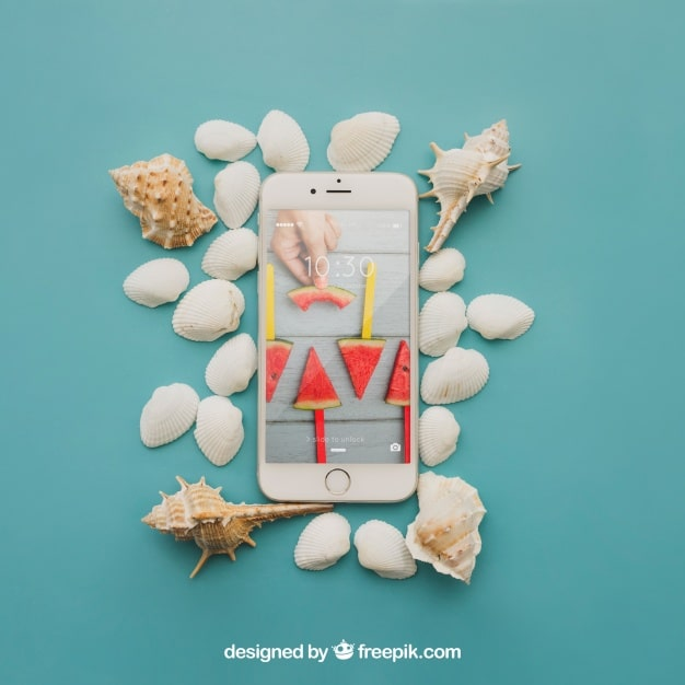 Phone Beach Concept