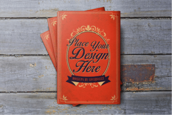 Book Dust Jacket PSD Mockup – Elegant Design & Useful Features
