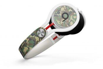 Free Customizable Headphone Design Mockup