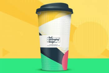 Free Download Cup PSD Mockup