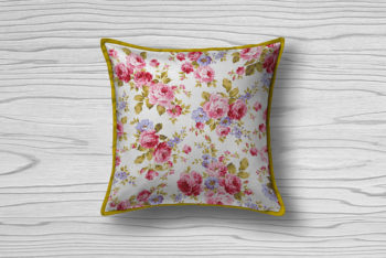 Cushion Cover Mockup in PSD