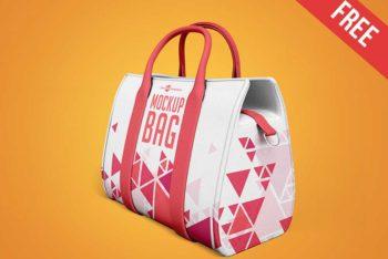 3 Free Handbag Mockups in PSD
