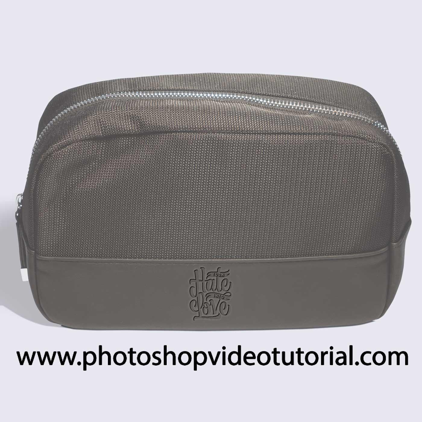Leather Bag PSD Mockup Design
