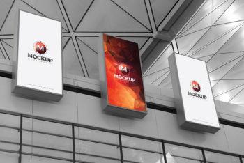 Free Expo Billboard Mockup