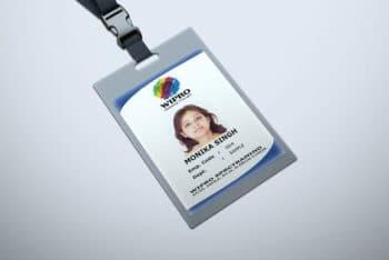 Free Download ID Card Mockup