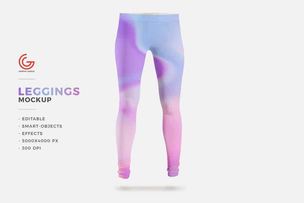 free leggings mockup