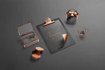Fully-Customizable Isometric Branding Mockup