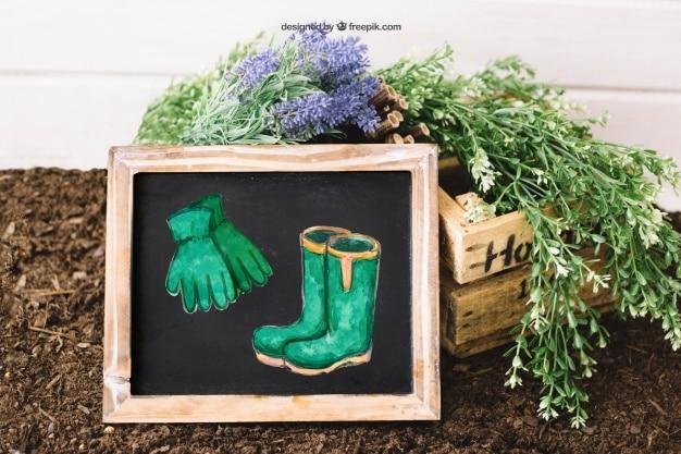 Gardening Plus Slate Concept