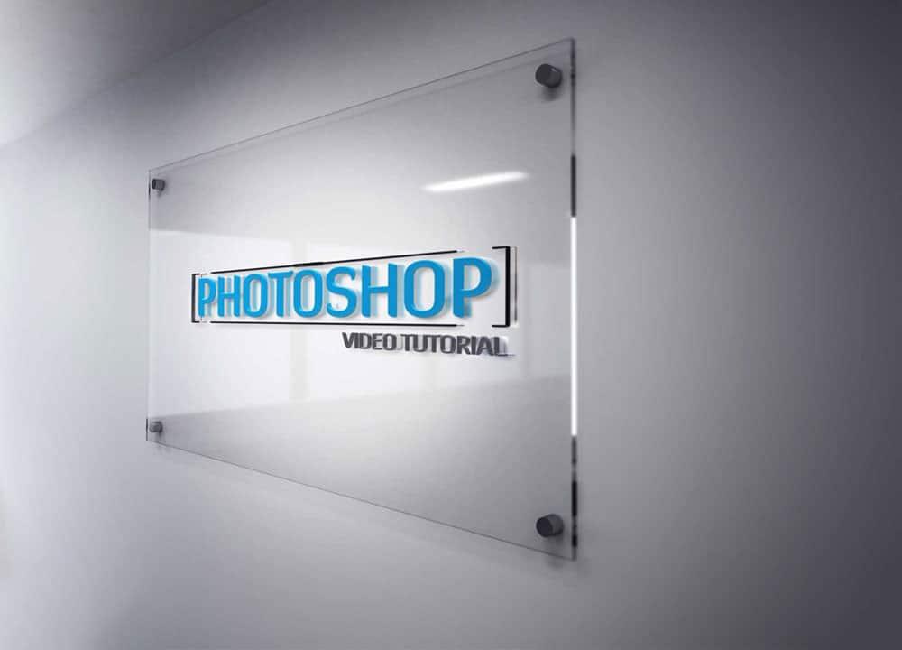 glass frame mockup
