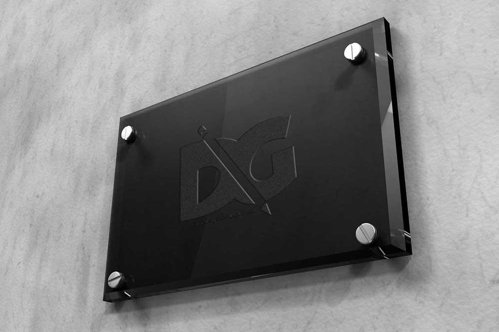 glass plate logo mockup2