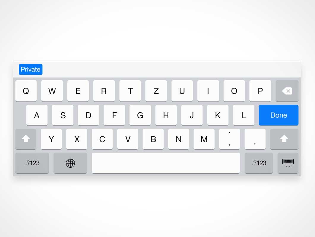 iPad Retina Keyboard