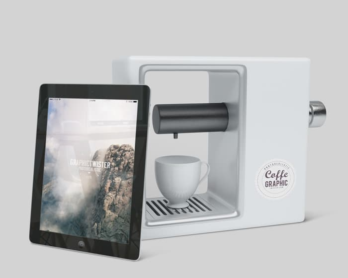 iPad Plus Coffee Maker