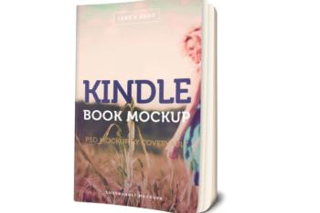 Kindle Paperback Book PSD Mockup for Free