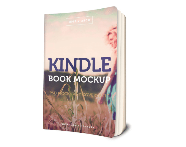 Kindle Paperback Book PSD Mockup Download For Free - DesignHooks