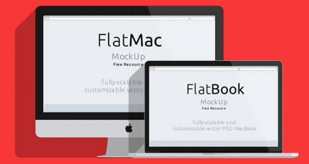 Flat iMac Plus MacBook