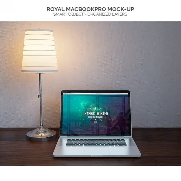 MacBook Pro Plus Lamp