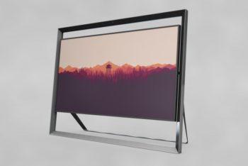 Realistic Modern Frame Mockup Freebie