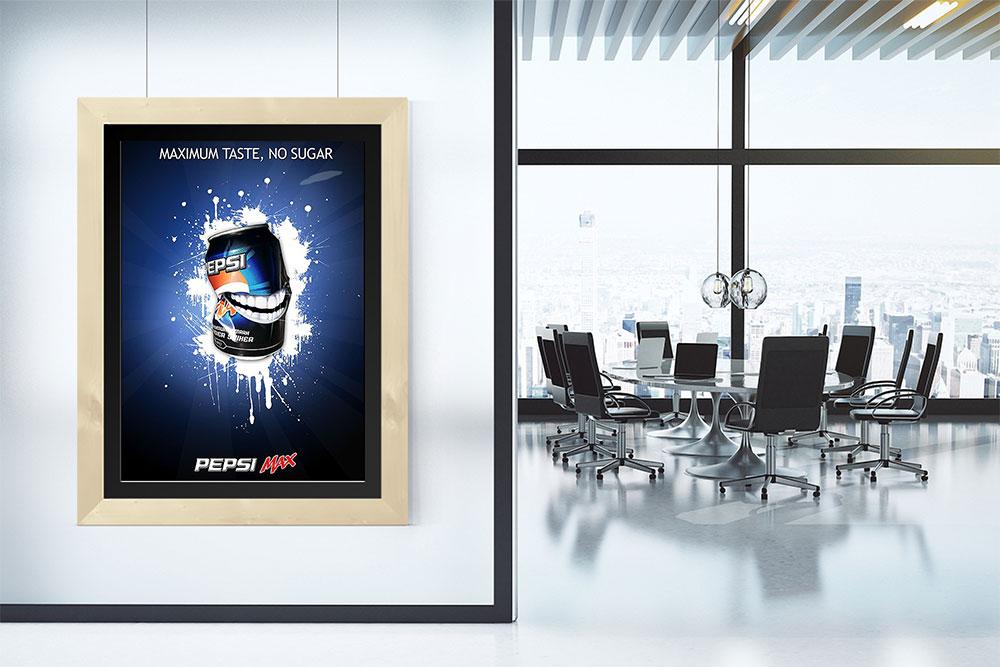poster presentation mockup