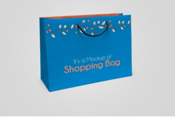 Paper Shopping Bag PSD Mockup – Wonderful Design & Useful Features