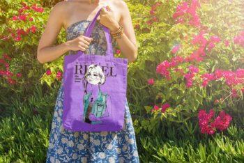 Free Download Tote Bag Mockup In PSD