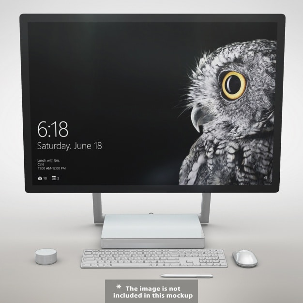 Minimalist Monitor Mockup