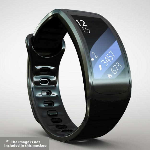 Glossy Smartwatch Design