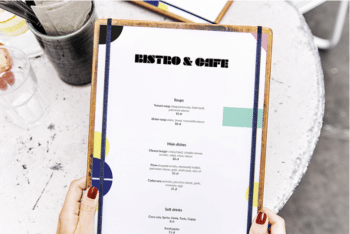 Restaurant Menu Card PSD Mockup (That Grabs Your Customer Attention)