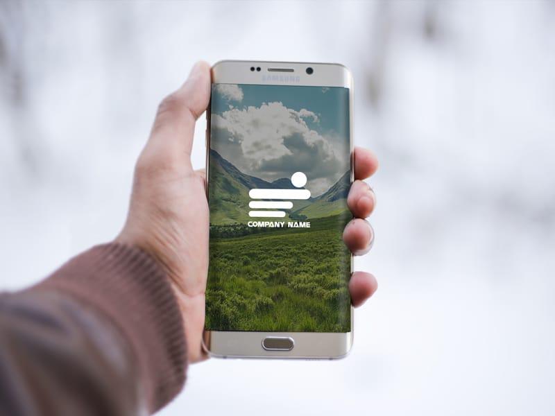 Samsung Galaxy Phone Plus Hand
