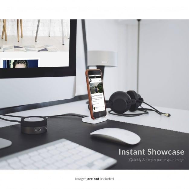 Standing Smartphone Plus iMac