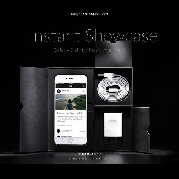 Phone Plus Accessories Packaging