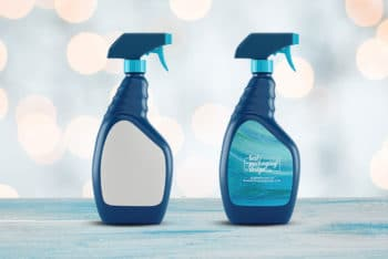 Spray Bottle Mockup for Cleaning Products