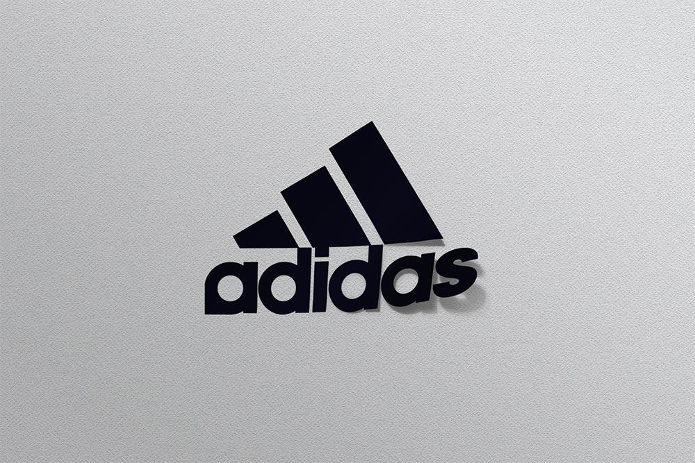 sticker logo psd mockup