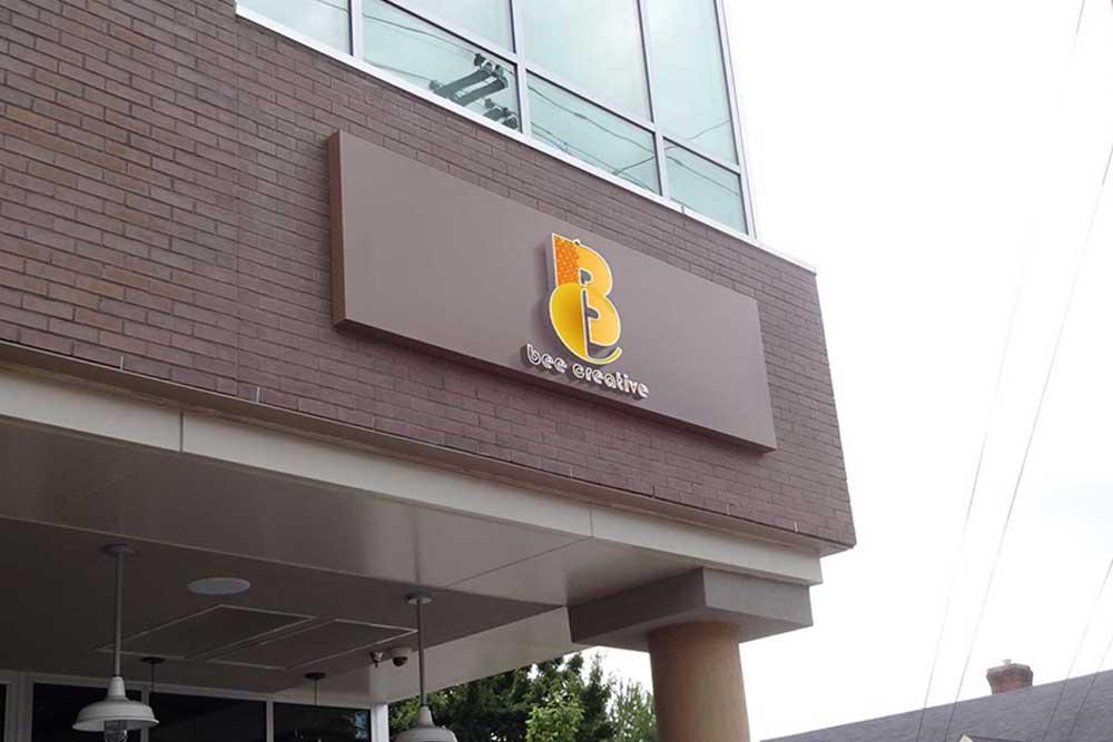 store facade logo mockup