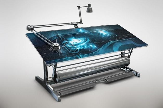 Futuristic Electronic Table