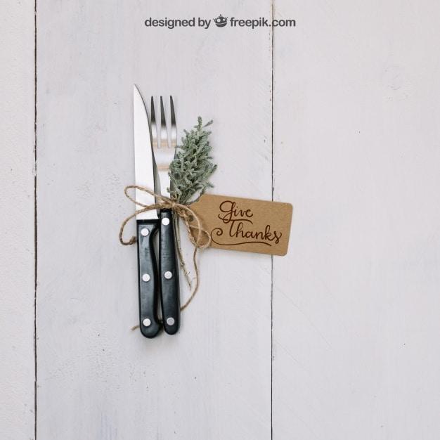 Thanksgiving Cutlery Concept
