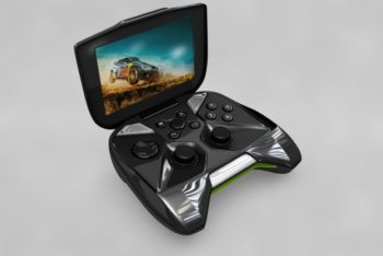 Free Nvidia Shield Device Mockup in PSD