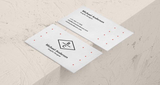business card psd mockup free download designhooks