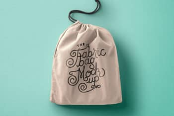 Drawstring Bag PSD Mockup for Amazing Merchandise Design