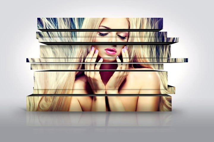 Artsy 3D Photo Design
