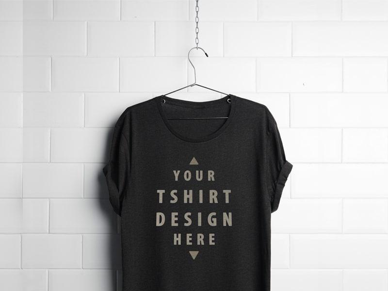 Realistic Hanging Shirt