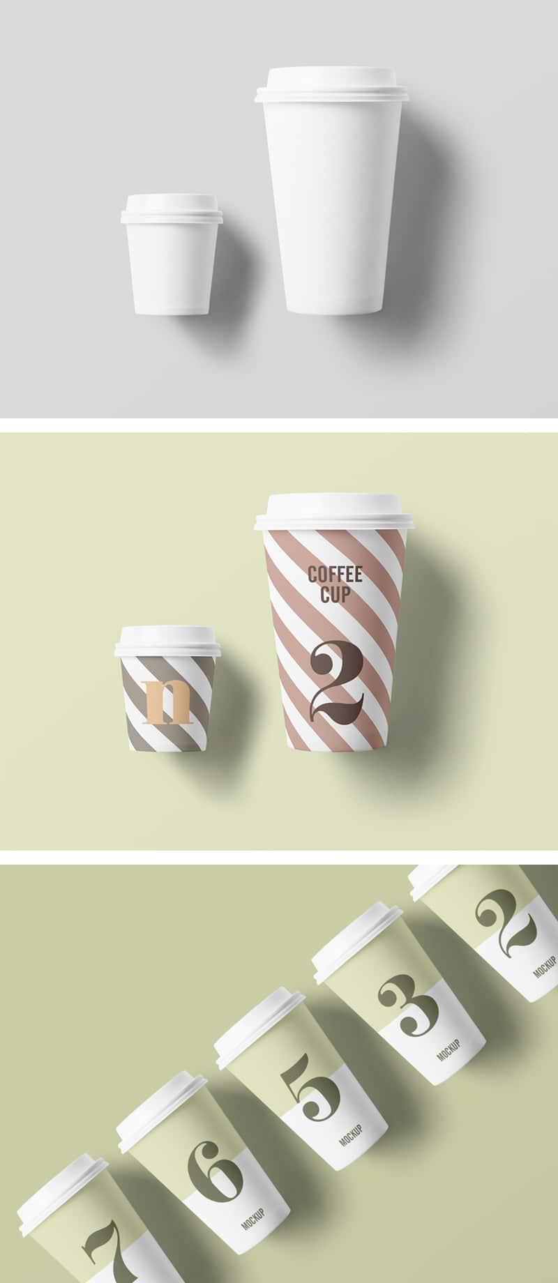 Realistic Paper Cup Design