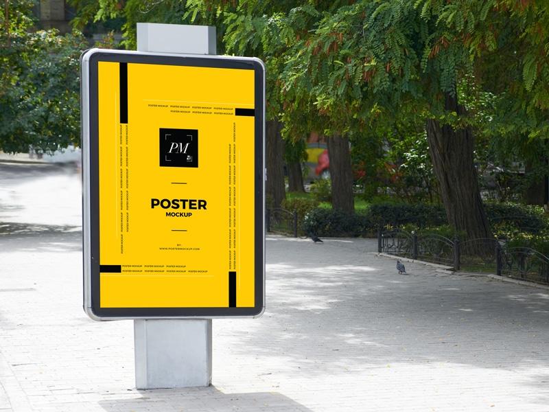 Poster Billboard PSD Mockup Download For Free - DesignHooks