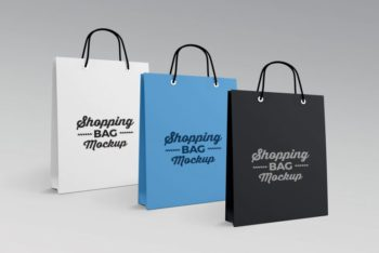 Paper-made Shopping Bag PSD Mockup – Stylish Look & User-friendly Features