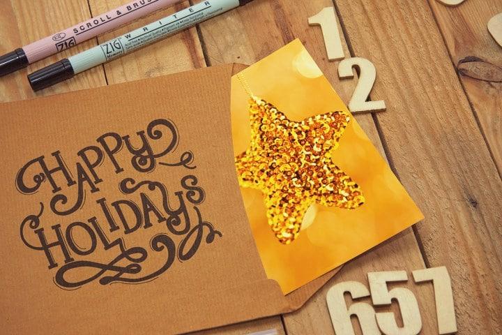 Cute Sketch Letter Design