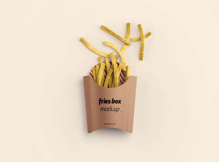 Simple French Fries Packaging