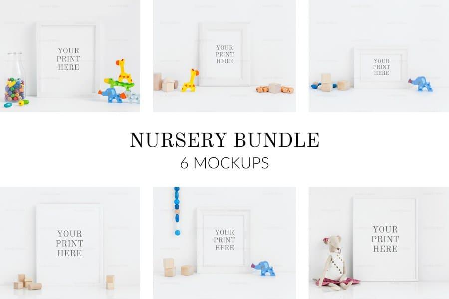 Nursery Frame Scene