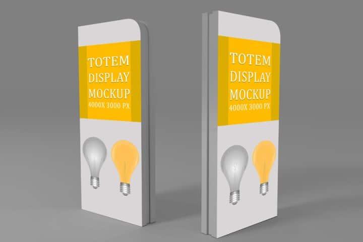 Totem Display Design