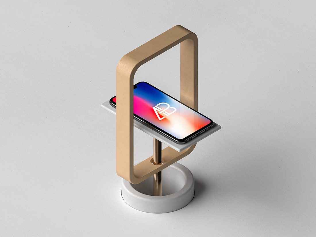 Modern iPhone X Plus Stand
