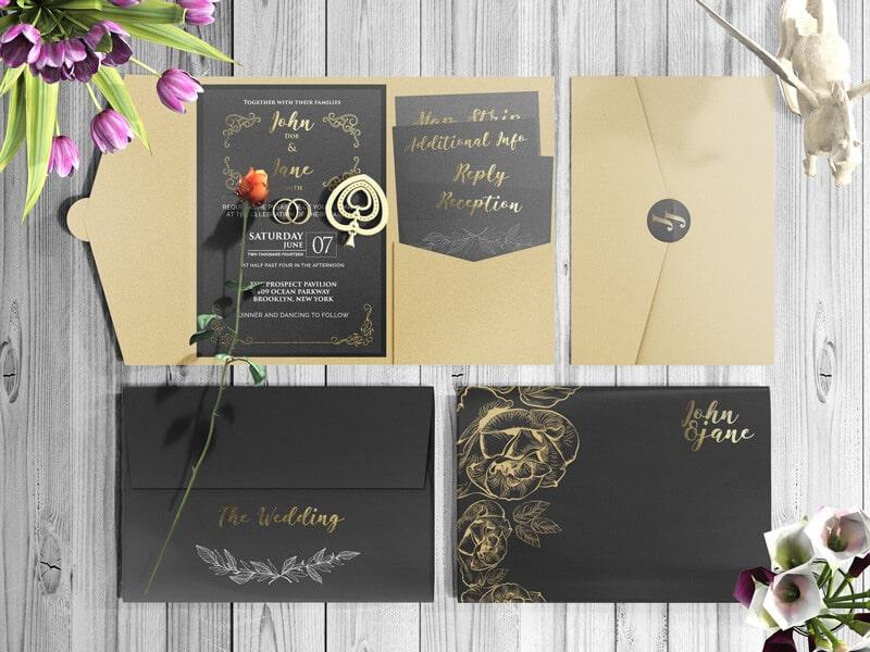 Pocket Invitation Design