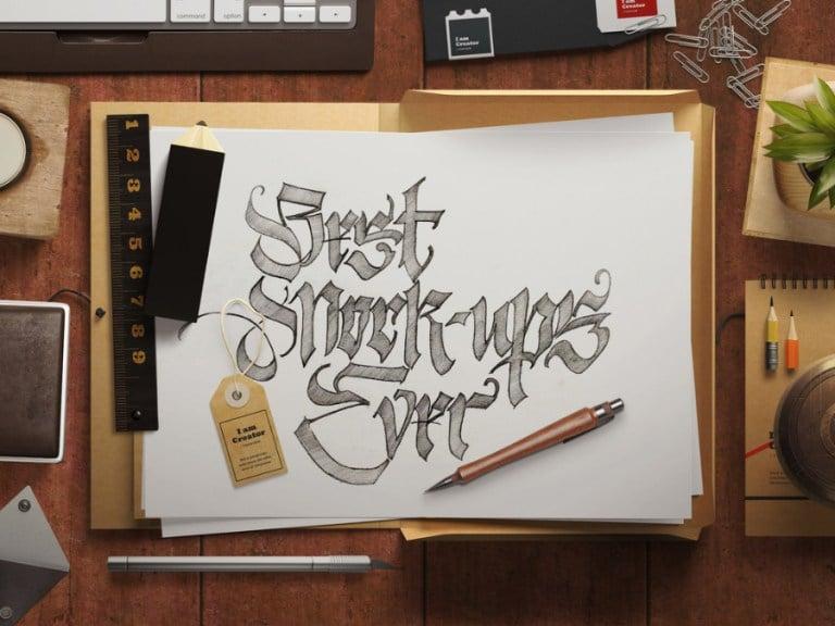 Top View Sketch Design
